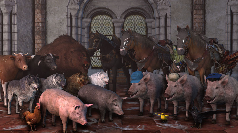 The Witcher 3: Wild Hunt Animal Pack