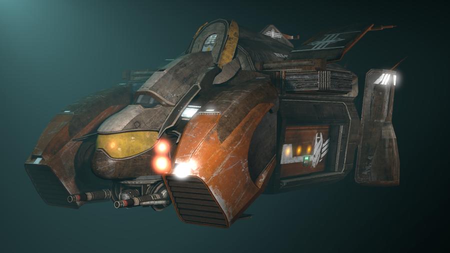 Dead Space 3 - Unitologist Dropship