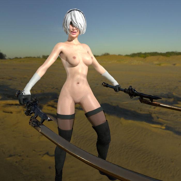 NieR_Automata_nude