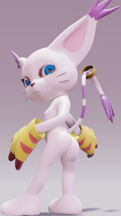 Gatomon V1 [BLENDER]