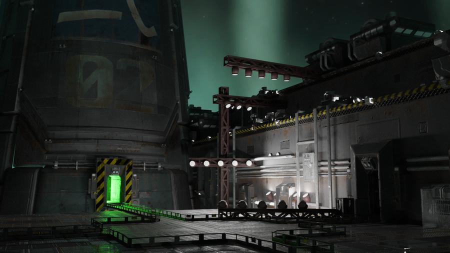 Final Fantasy VII Reactor Scene