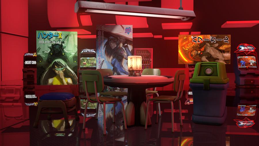 Overwatch - Arcade Props