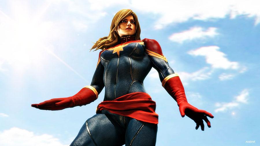 MARVEL VS. CAPCOM: INFINITE - Captain Marvel