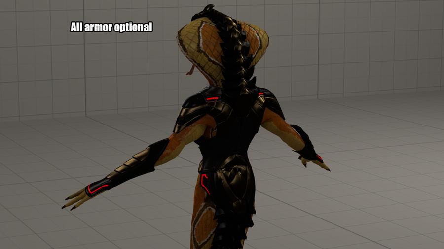 X-Com 2 Viper Nude
