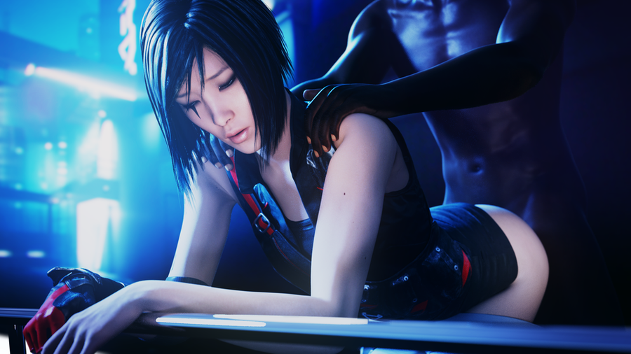 [Mirror's Edge: Catalyst]  Faith Connors w/ Pulled Pants & Bare Feets