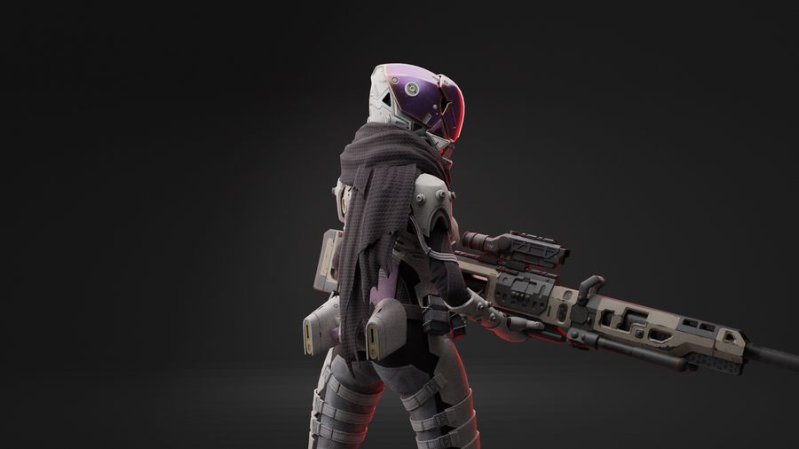 Wraith from Apex Legends