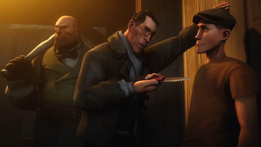 Norpo's Team Fortress 2 Steampunk Characters