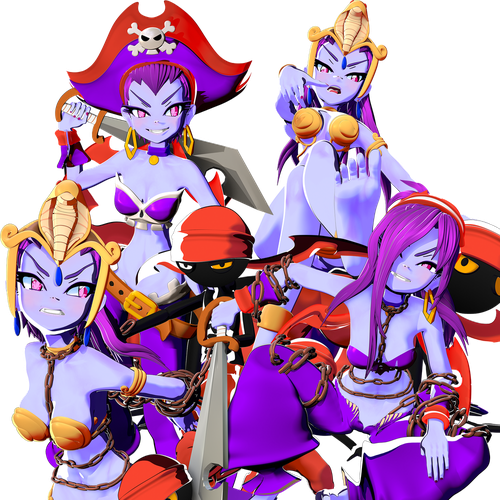 Thumbnail image for Risky Boots - Shantae and the Seven Sirens Op version