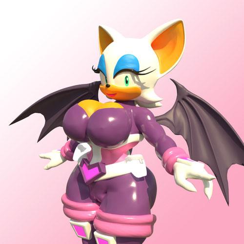 Thumbnail image for Rouge the Bat [V3 Revision]
