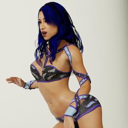 Sasha WWE2k