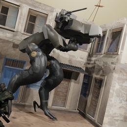 Metal-Gear Rising: Nsfw Gekko 1.0