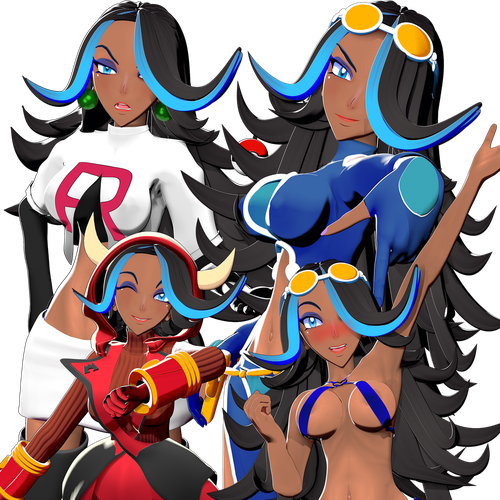 Thumbnail image for Shelly - Team Aqua - Pokemon Alpha Sapphire