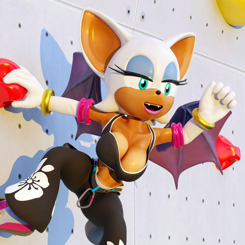 Thumbnail image for Rouge the Bat 2021 (Sonic the Hedgehog)
