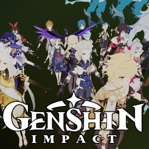 Thumbnail image for Mega Pack - Genshin Impact