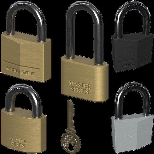Thumbnail image for Set of padlocks + Key