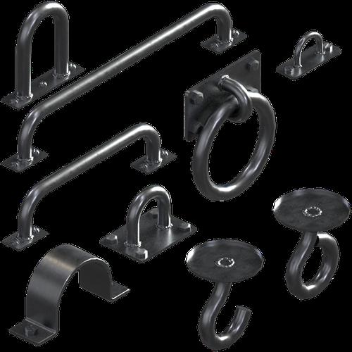 Thumbnail image for Set of Steel Hooks, Handles