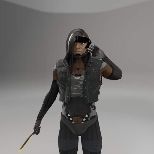 "Thumbnail image for Metal-Gear Rising: Desperado OC ""Kali Andhi"""