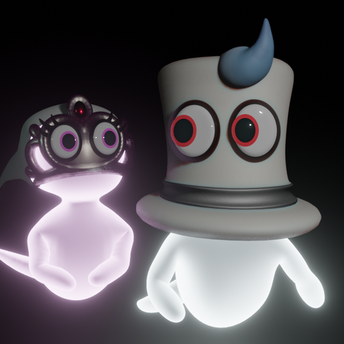 Thumbnail image for Cappy and Tiara (Super Mario Odyssey)