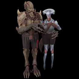 Archvile and Summoner (Doom 2016/eternal)