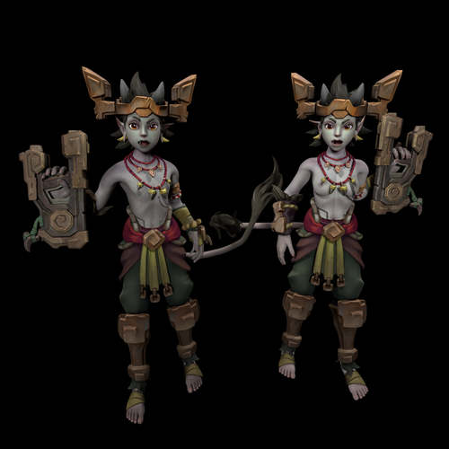 Thumbnail image for Talus and Talia(champions of realm)