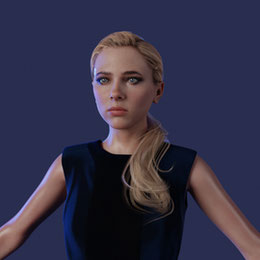 Chloe Beta model [Detroit: Become Human]