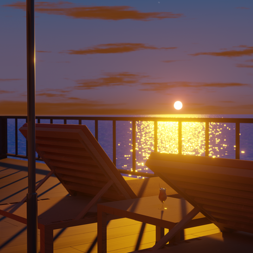 Thumbnail image for Seaside Balcony