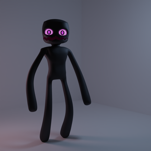 Thumbnail image for Enderman (Blender)
