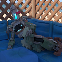 Male/Female Bastion (Overwatch)