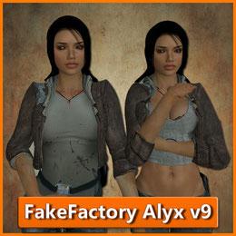 (MARK2580) FakeFactory Alyx v9